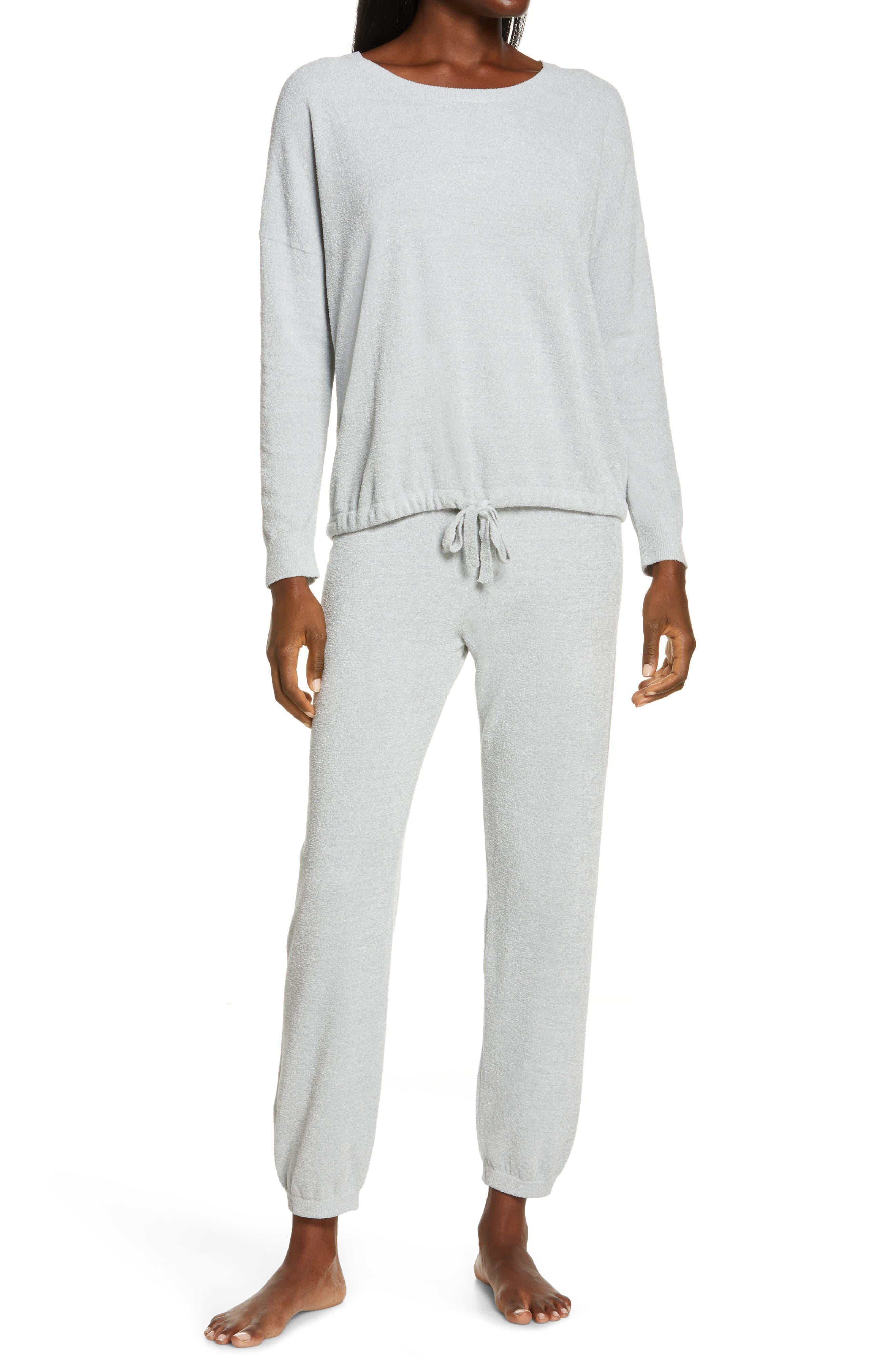 Women's Barefoot Dreams Cozychic(TM) Luxe Long Sleeve Pajamas