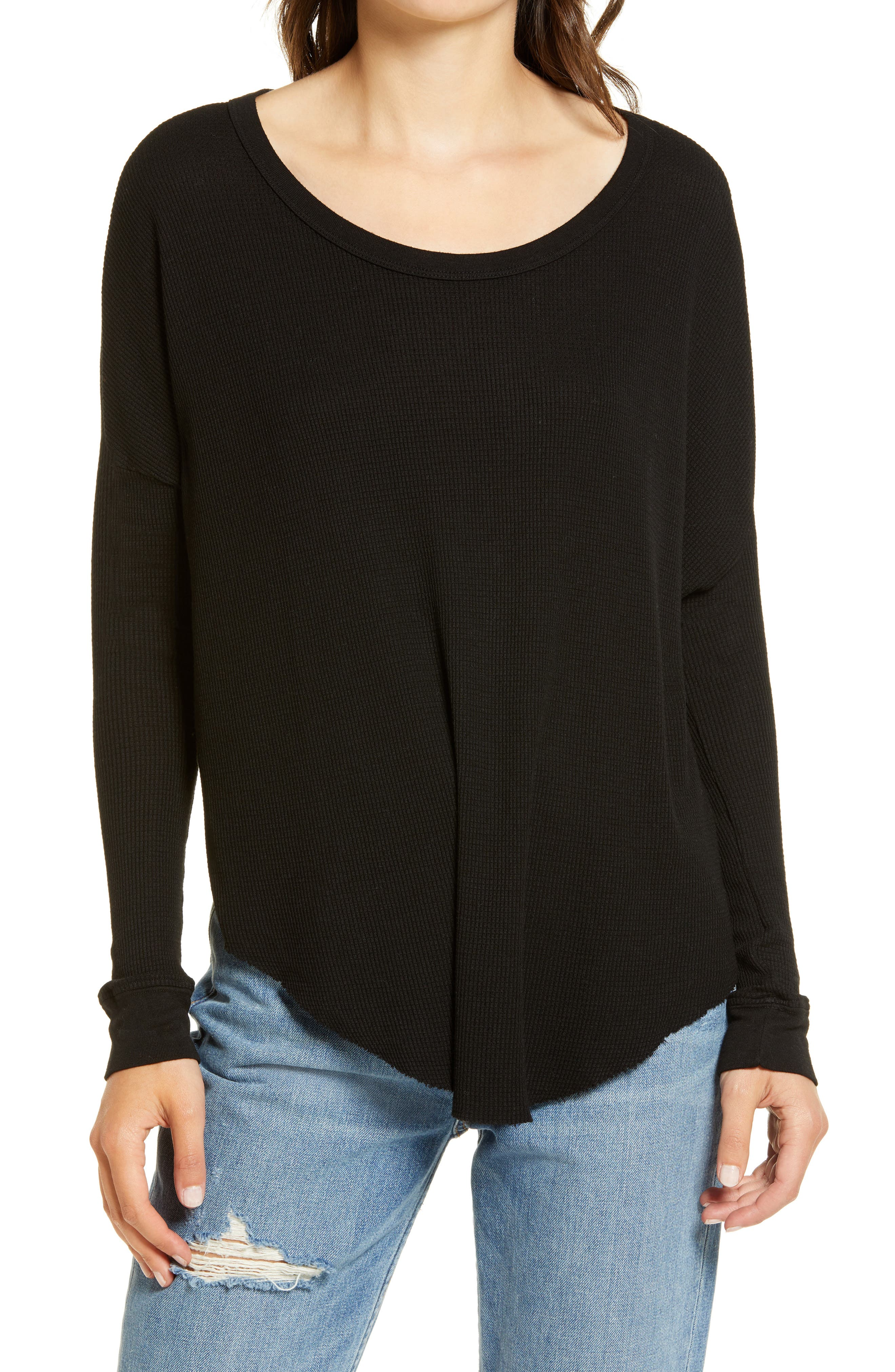 Image of WILDFOX Perry Thermal Tunic Top