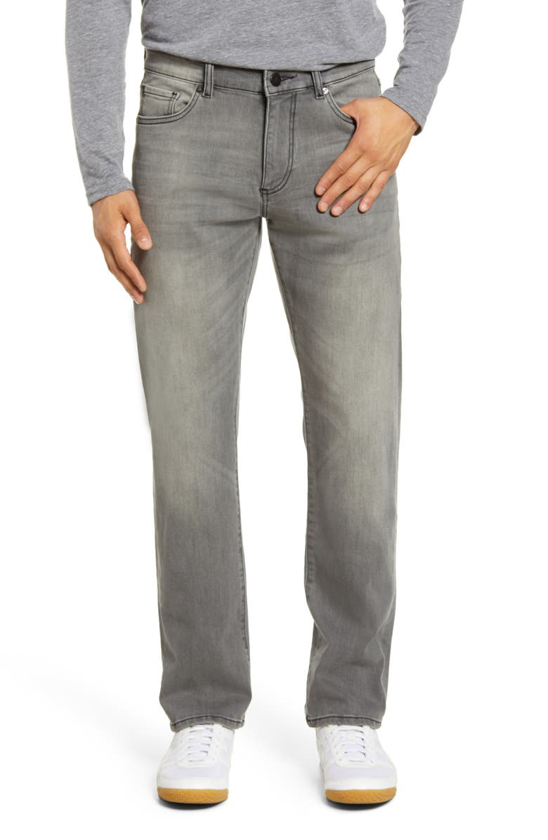 DL1961 Avery Modern Straight Leg Jeans, Main, color, PARTICLE