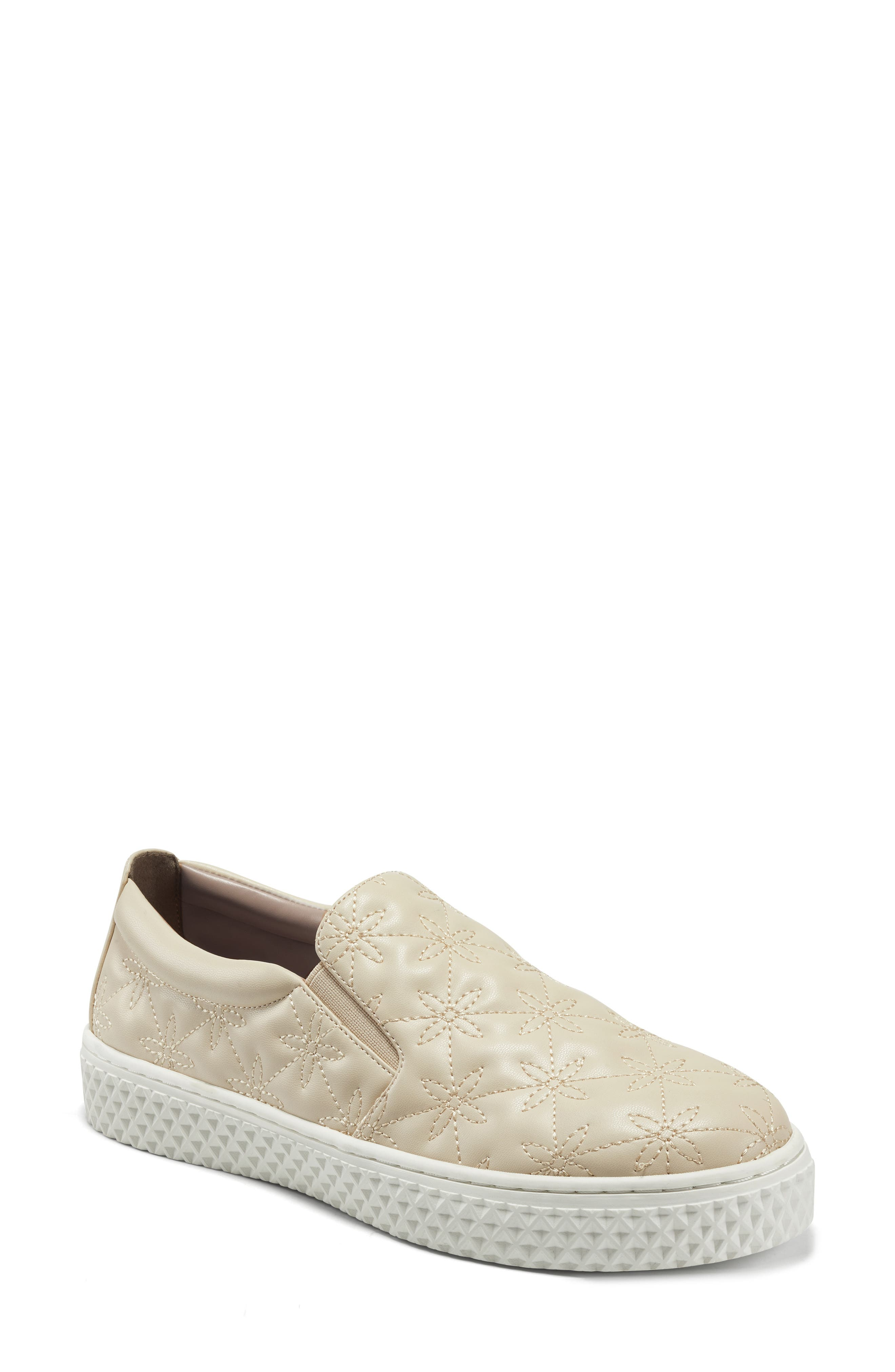 X Laura Ashley Erin Quilted Slip-On Sneaker