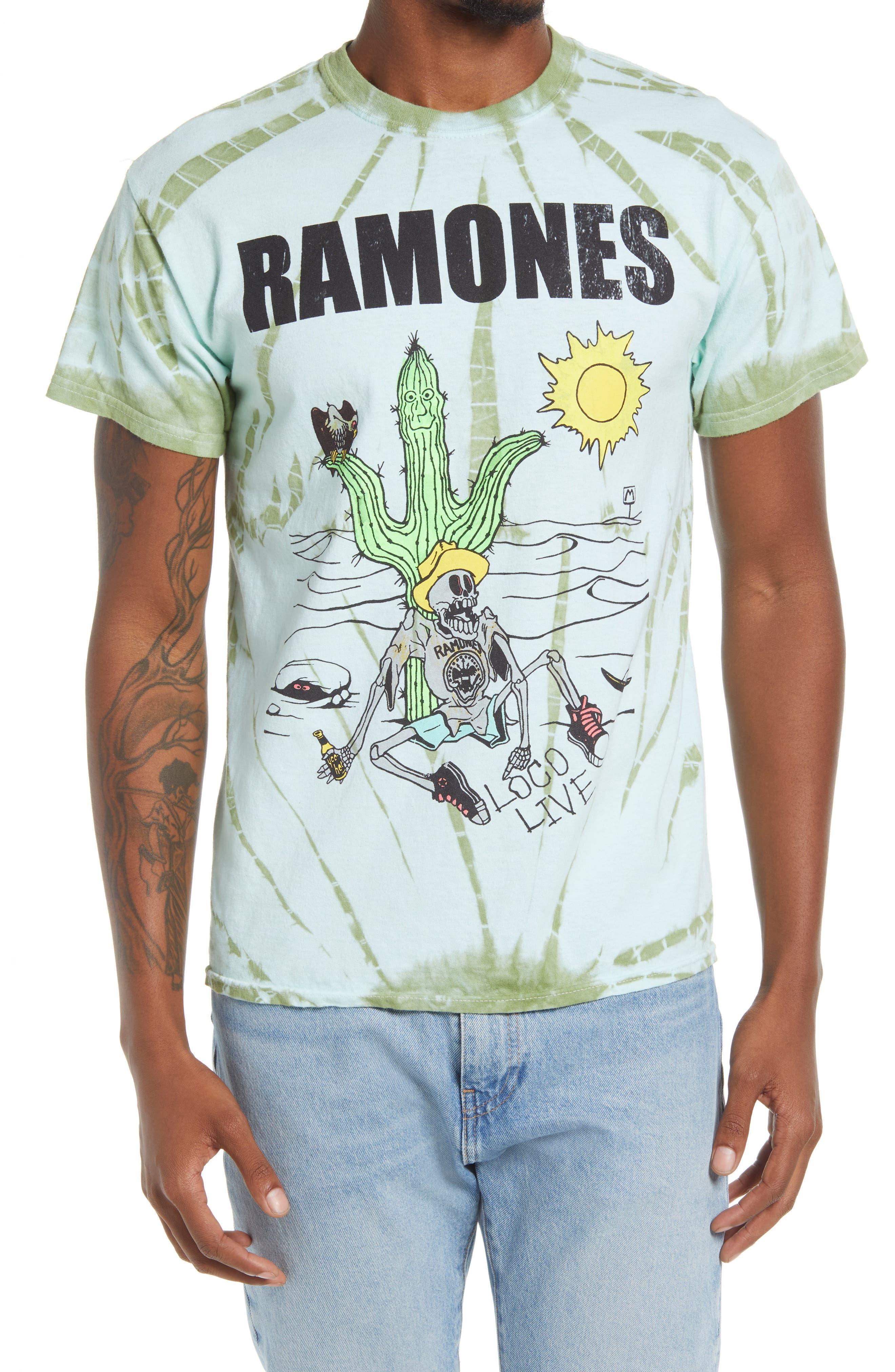 Men's Ramones Loco Live Graphic Tee