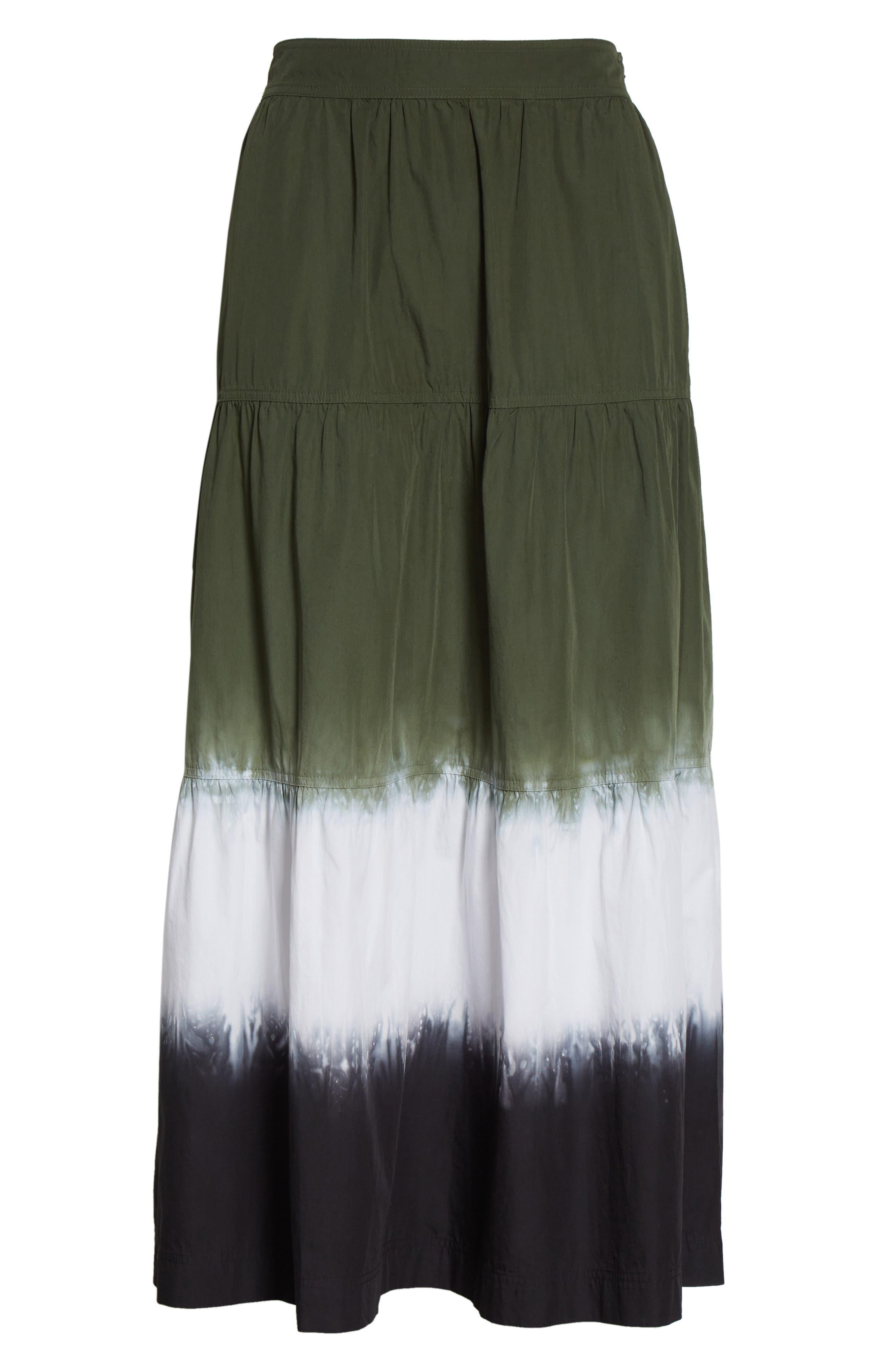 Lynne Tie Dye Maxi Skirt