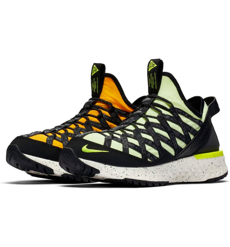 NIKE ACG React Terra Gobe Sneaker, Main, color, BARELY VOLT/ VOLT/ GOLD