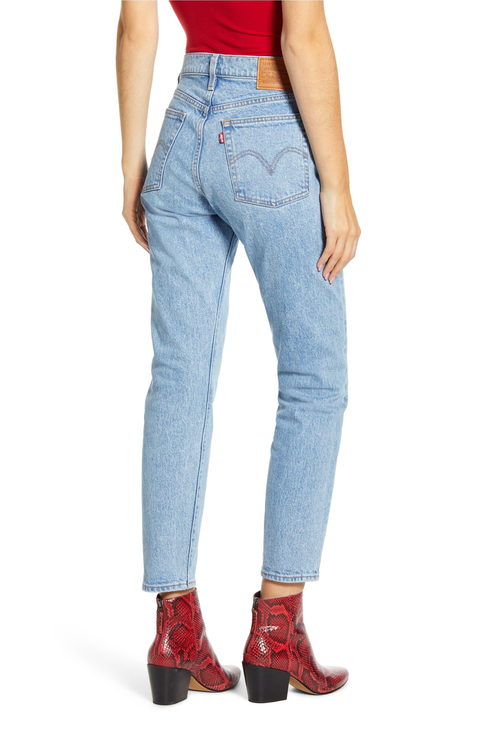 Jeans de cintura alta LEVI'S Wedgie Icon Fit, Alternate, cor, TANGO LIGHT