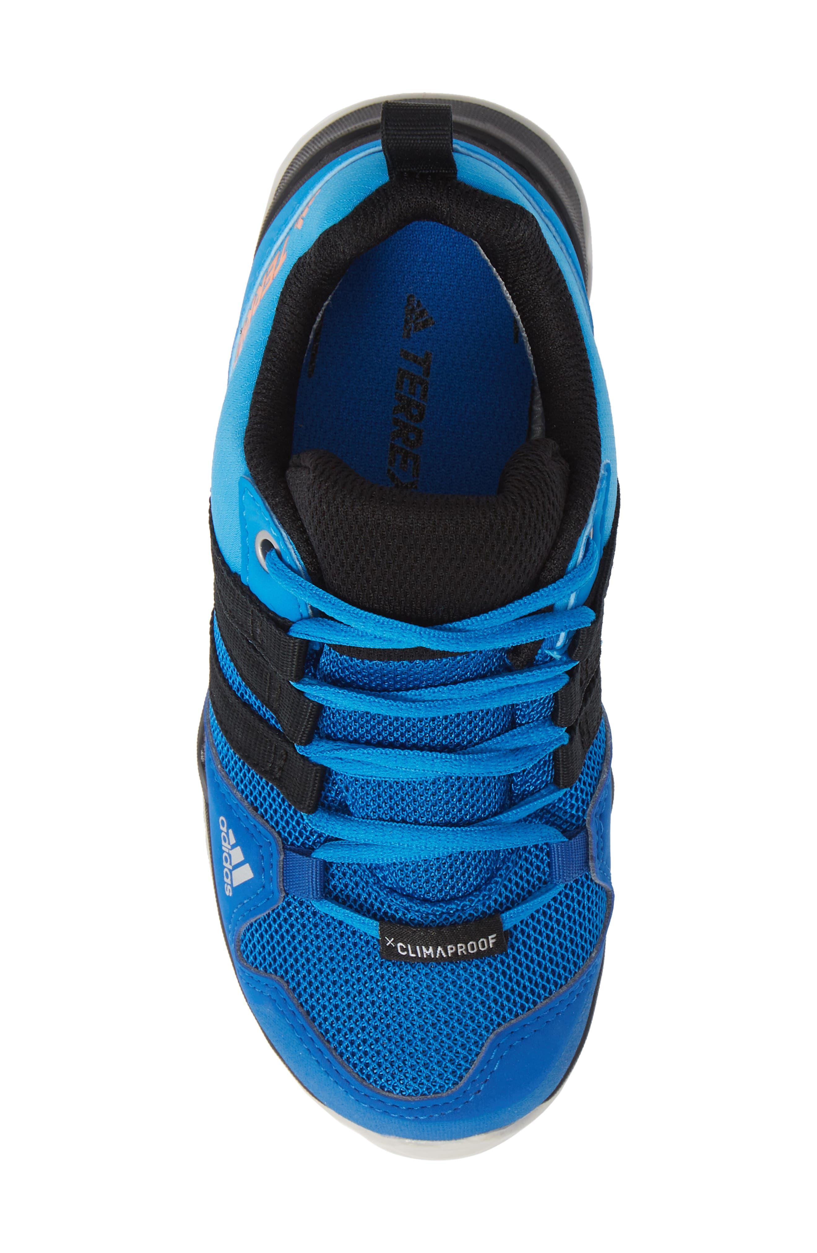 ,                             Terrex AX2R CP Sneaker,                             Alternate thumbnail 5, color,                             BLUE BEAUTY/ BLACK/ ORANGE