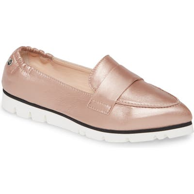 Agl Micro Pointed Toe Loafer, Pink