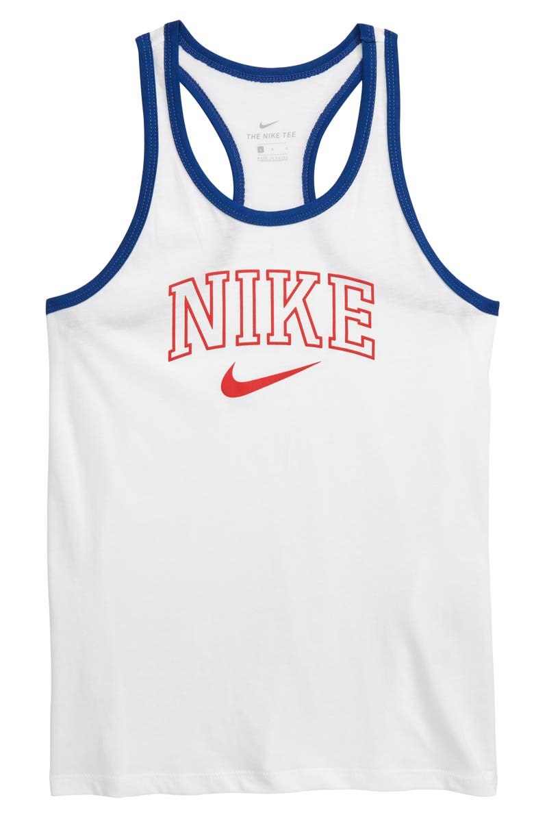 NIKE Sporty Tank, Main, color, 100