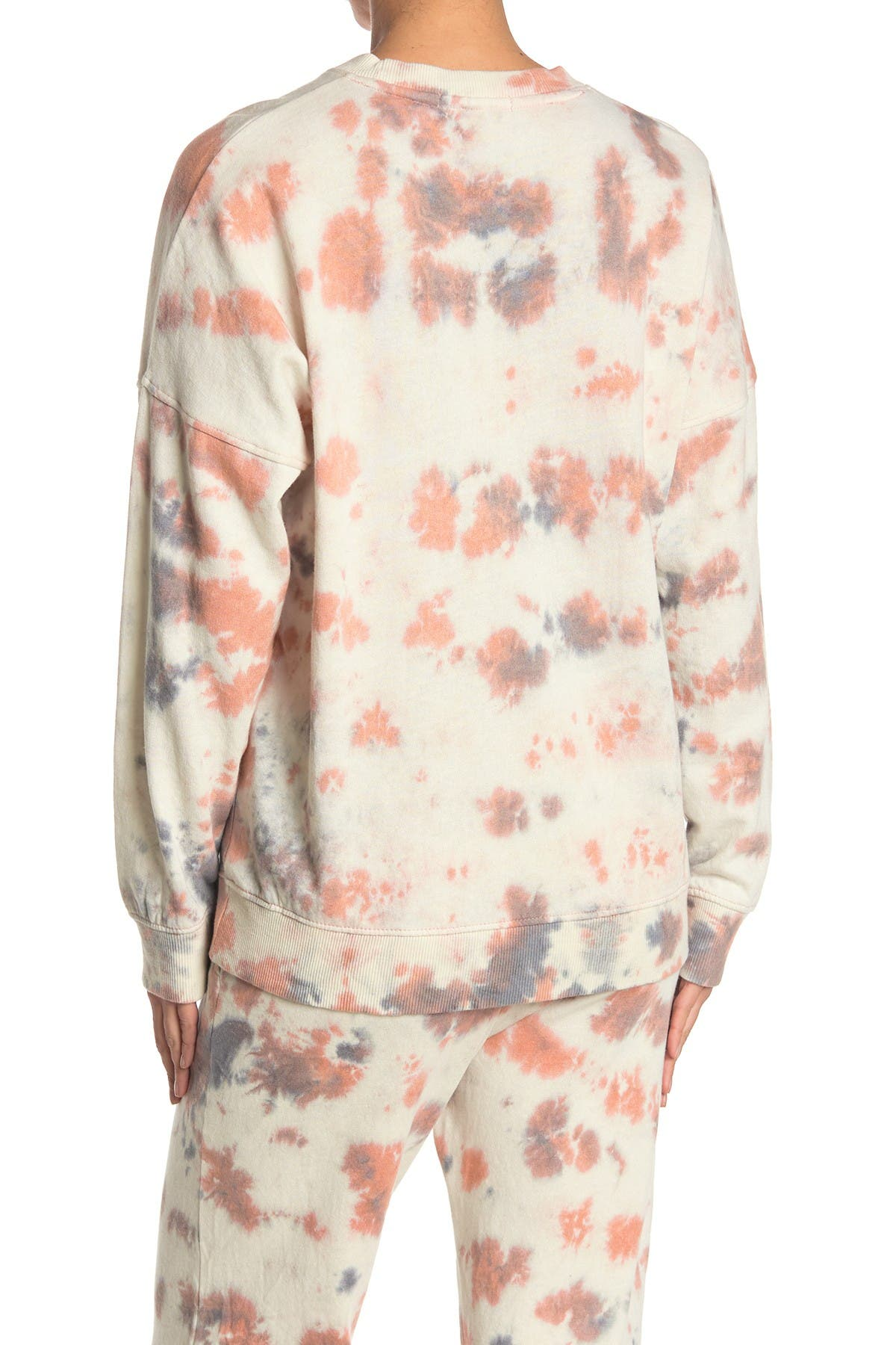 Image of Threads 4 Thought Cathy Boyfriend Tie-Dye Organic Cotton Blend Pullover
