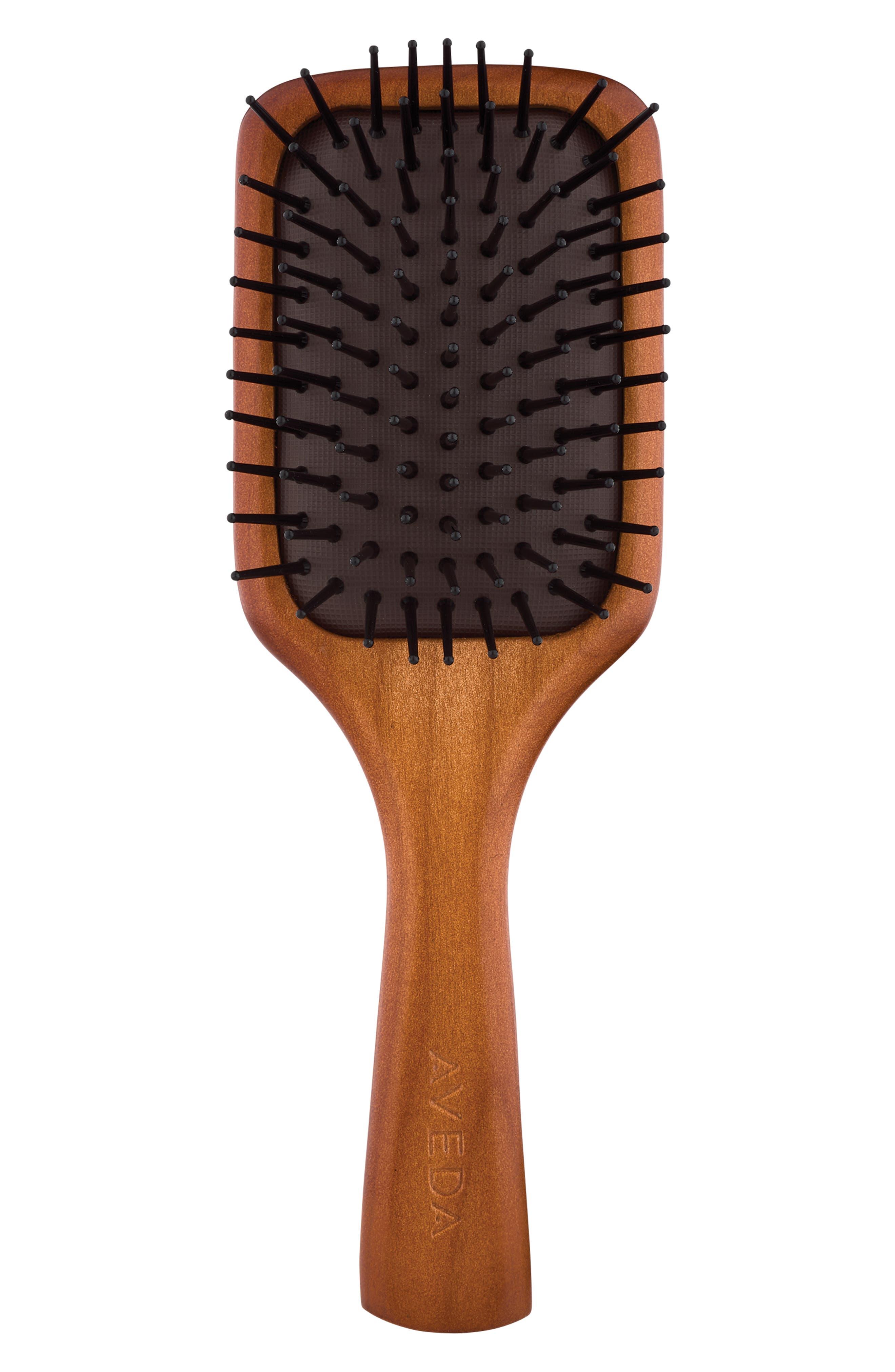 Wooden Mini Paddle Brush