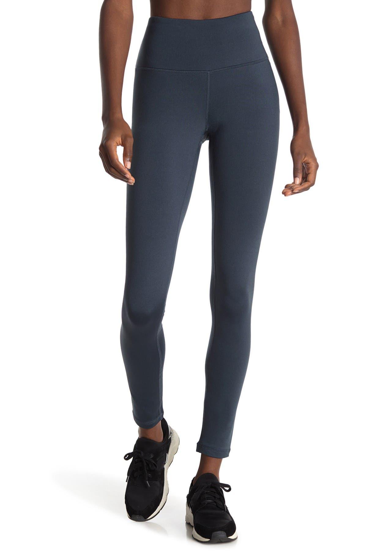 Image of 90 Degree By Reflex Soft Tech Fleece Lined High Rise Leggings