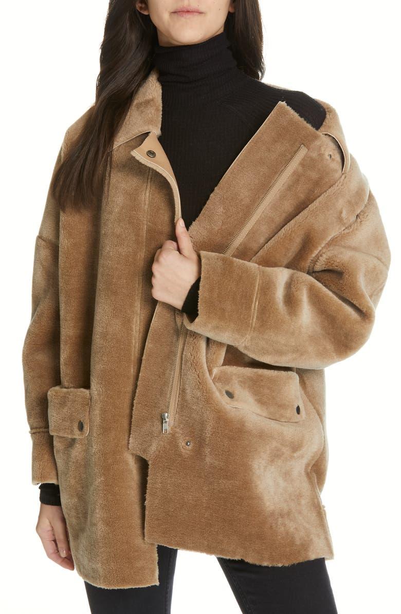 6a7c5d4056 Free People Lindsay Faux Fur Coat | Nordstrom
