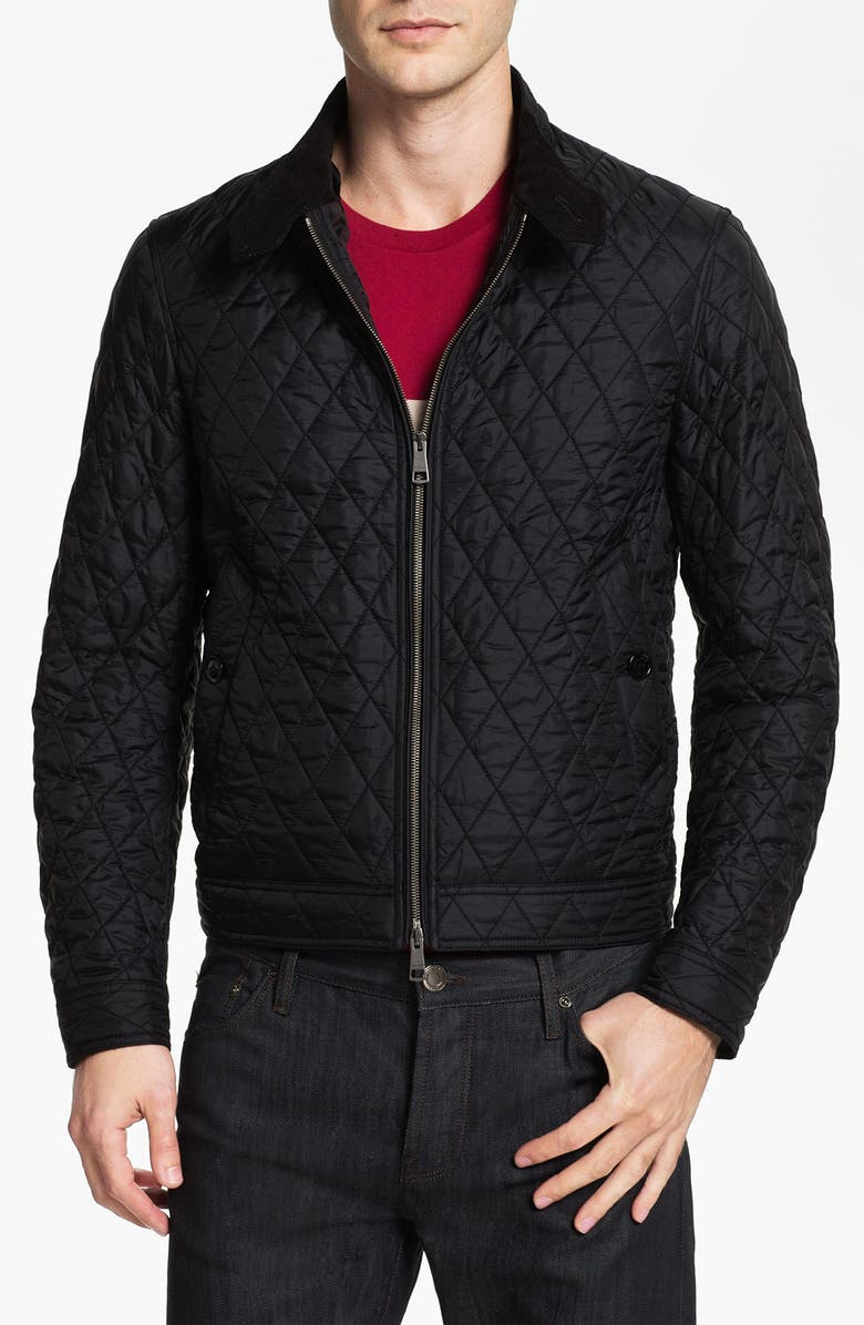 Brit Howson Quilted Bomber Jacket