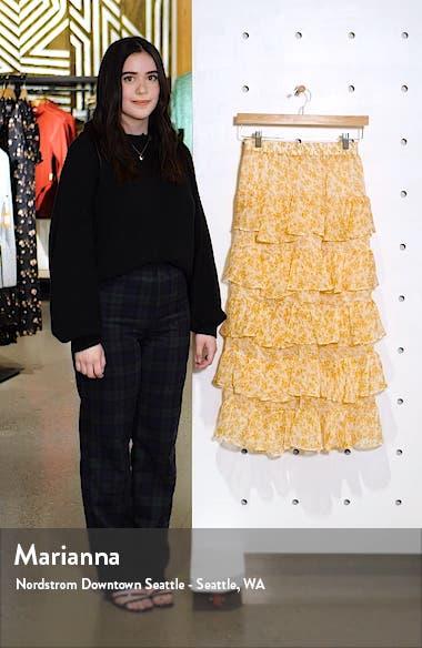 Lana Tiered Midi Skirt, sales video thumbnail