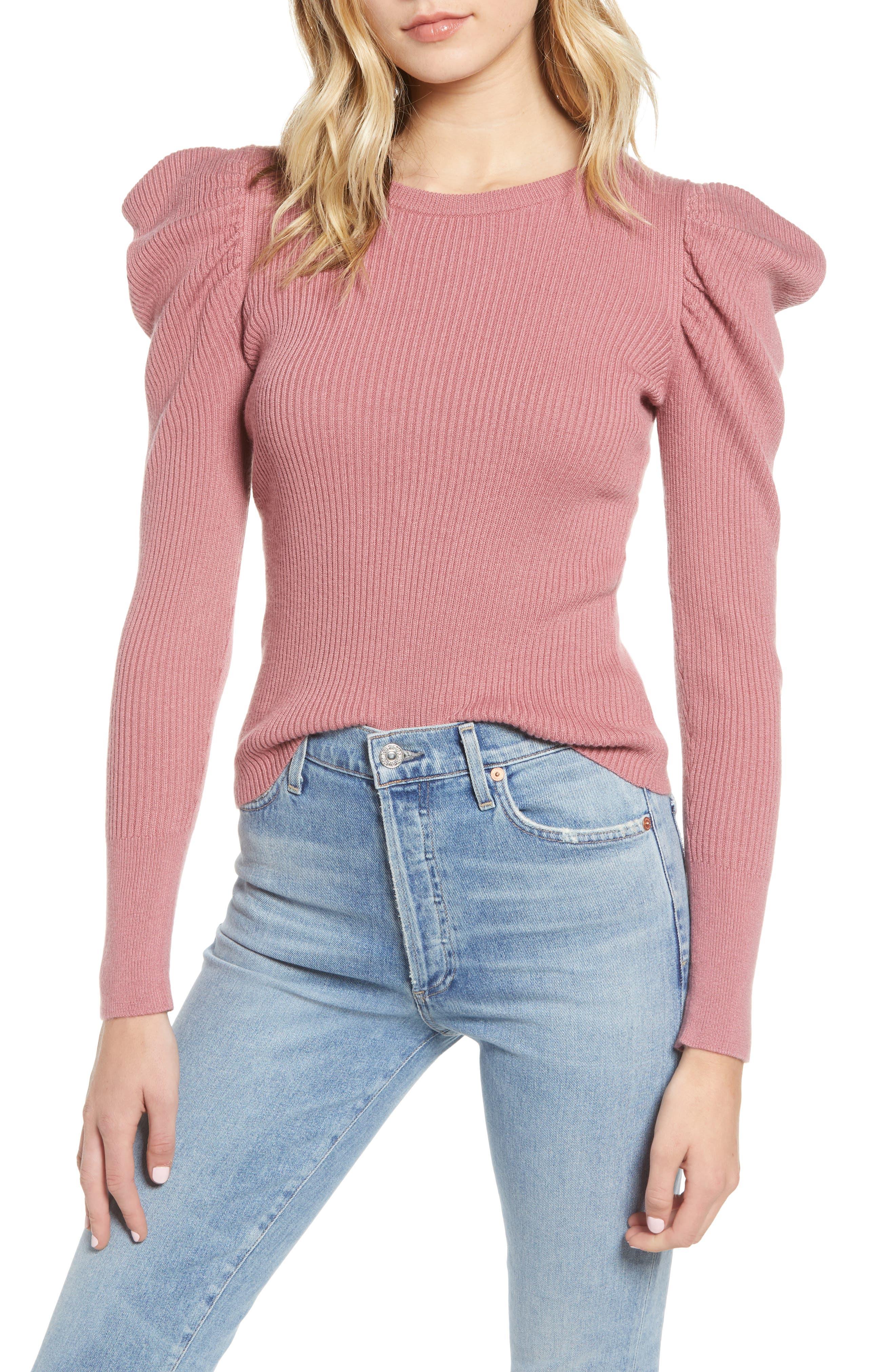 allstone-puff-sleeve-sweater by splendid