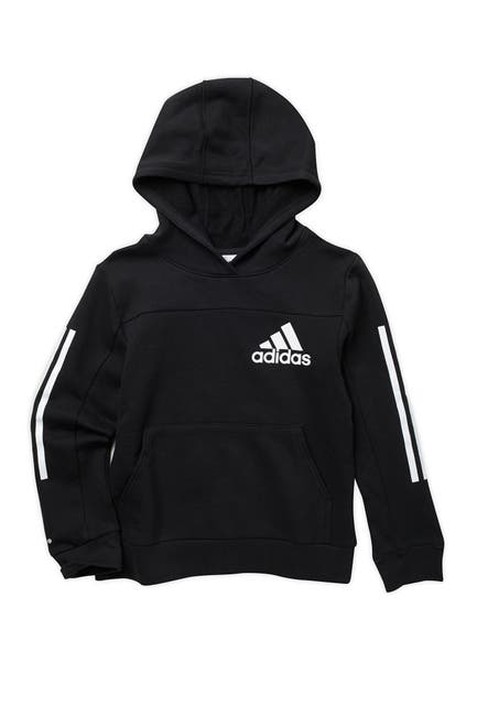 Image of ADIDAS ORIGINALS Classic 3-Stripes Sleeves Hooded Pullover