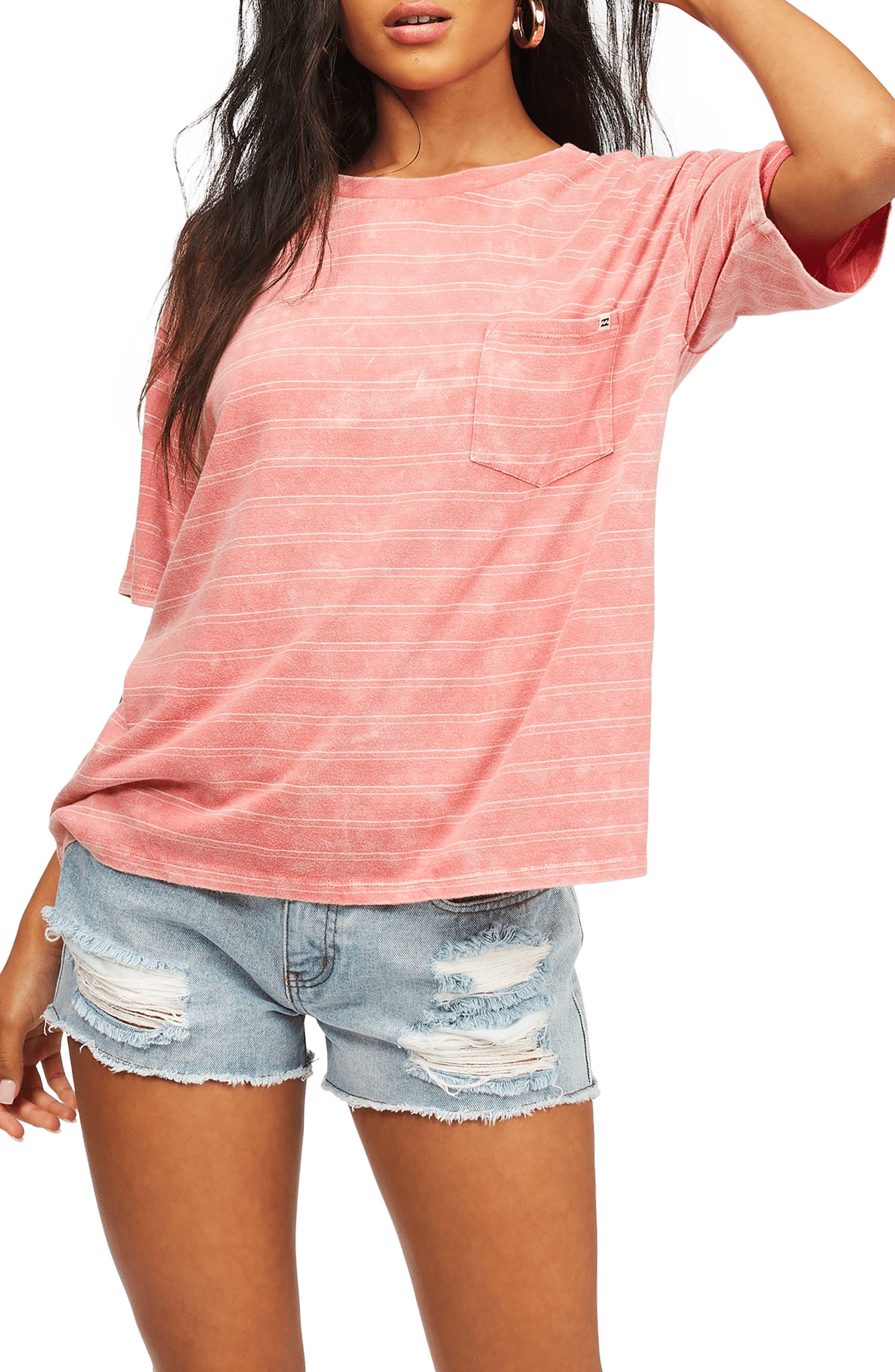 Beach Stripes Pocket T-Shirt
