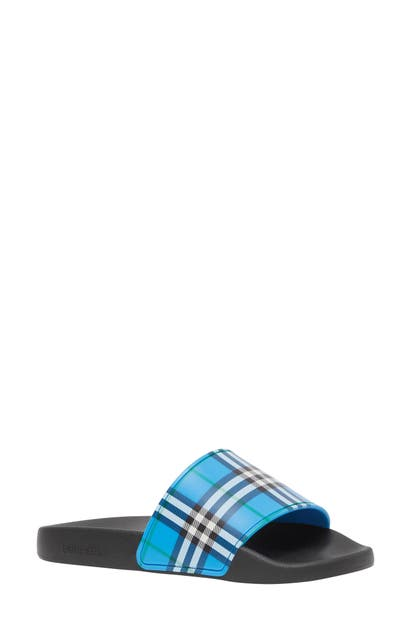 Burberry FURLEY CHECK SLIDE SANDAL