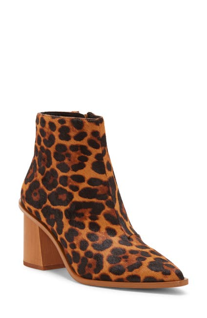Image of 1.State Kelte Pointed Toe Genuine Calf Hair Bootie