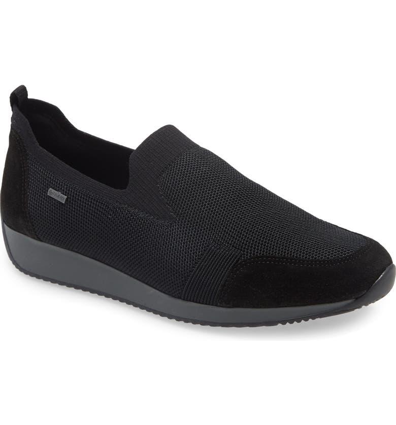 ARA Lilith Sneaker, Main, color, BLACK
