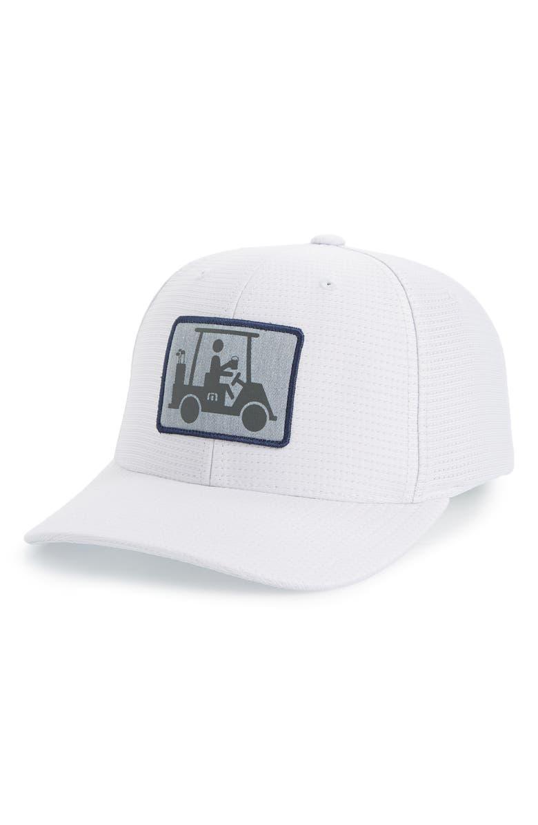 TRAVISMATHEW Coming in Hot Snapback Cap, Main, color, 020