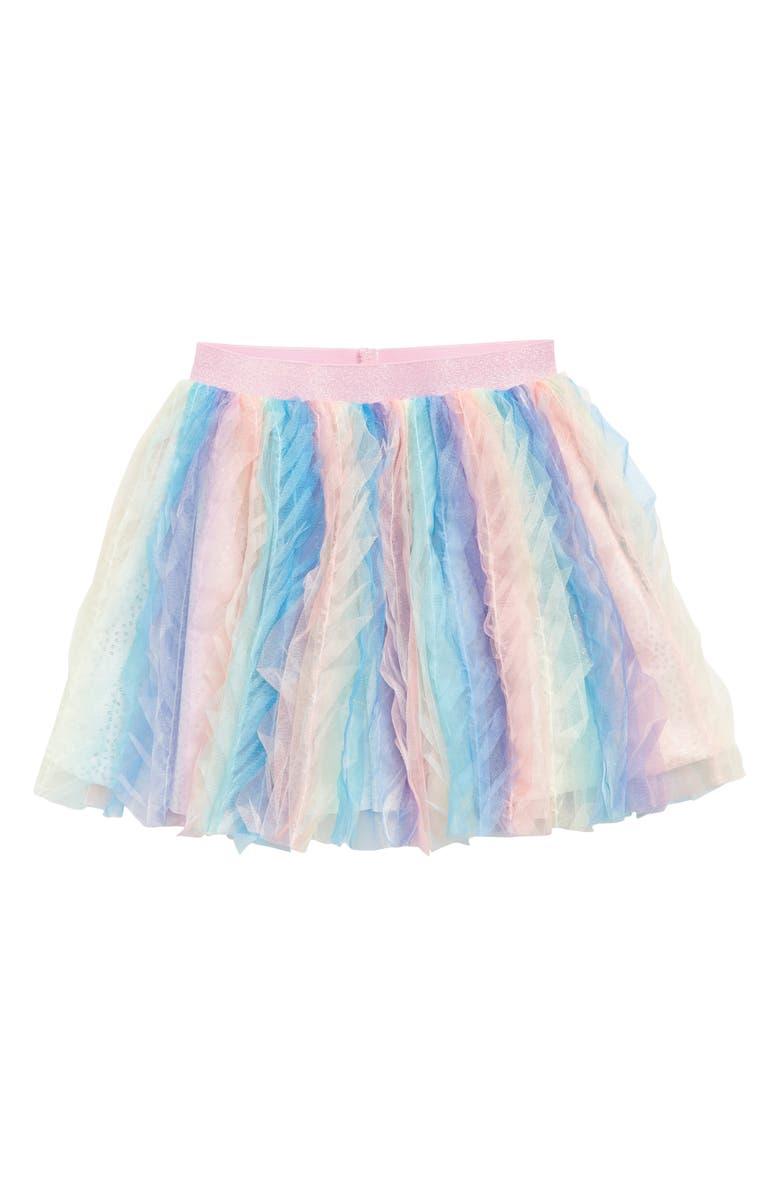 TRULY ME Multicolor Sequin Tutu Skirt, Main, color, 650