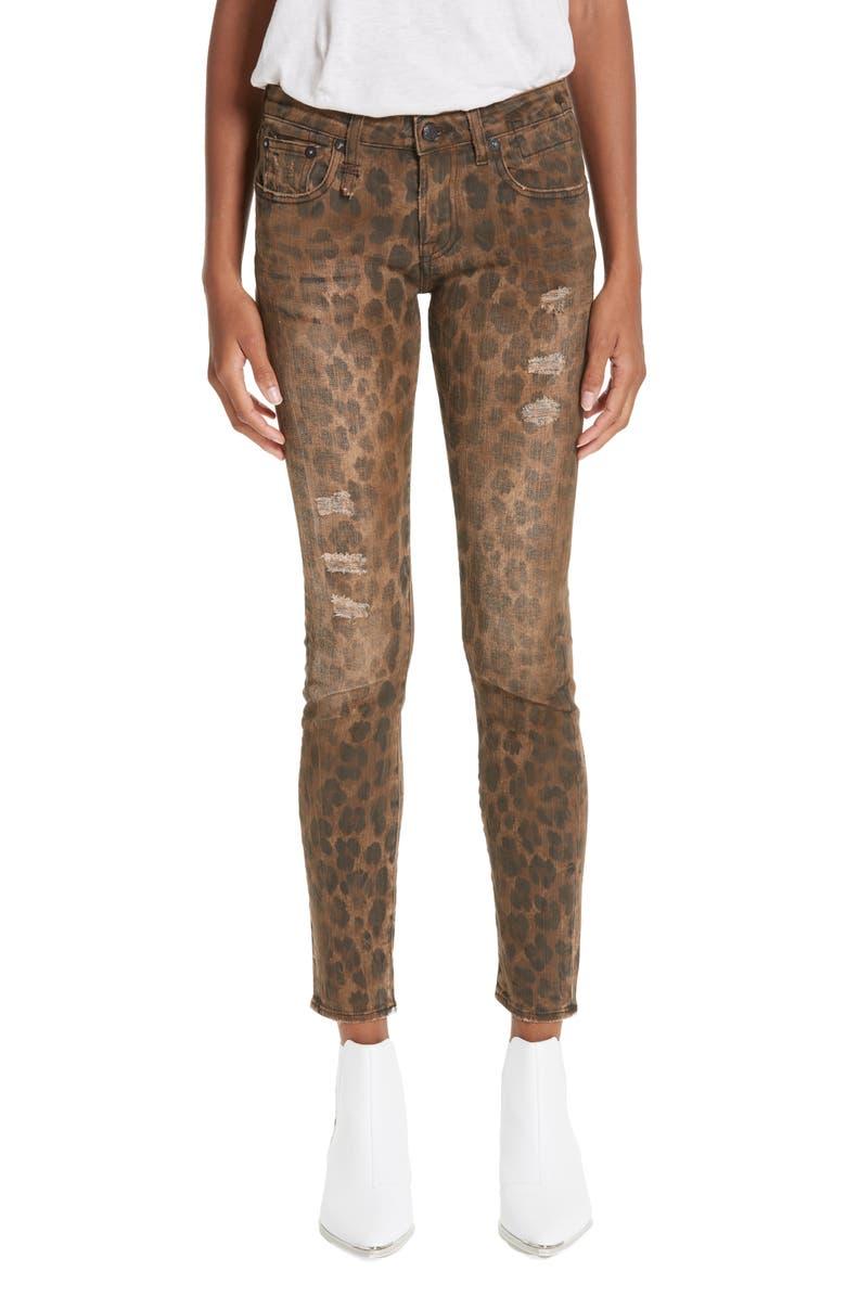 R13 Kate Skinny Jeans, Main, color, 242