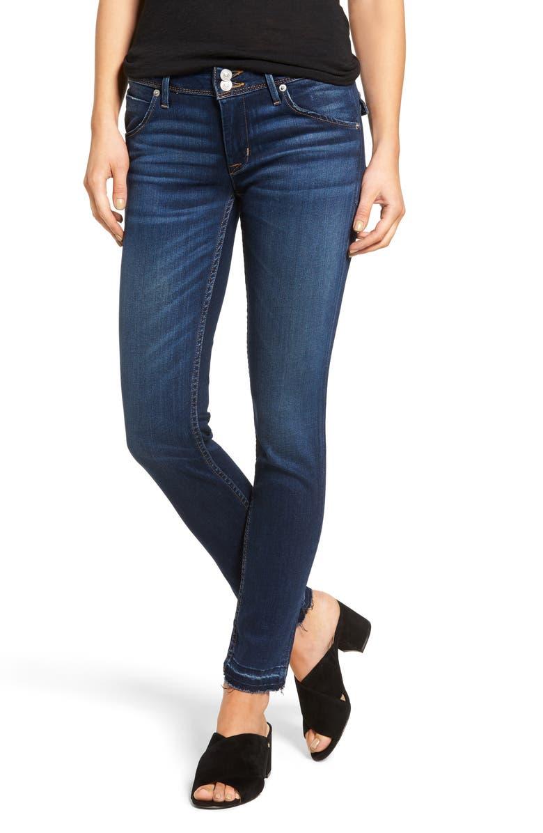 HUDSON JEANS Nico Ankle Skinny Jeans, Main, color, 402