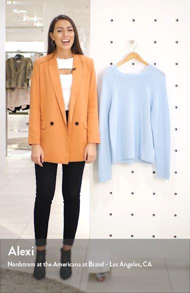Raglan Sleeve Wool & Cashmere Hoodie, sales video thumbnail