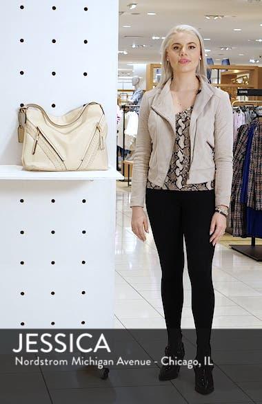Destin 2 Faux Leather Hobo Bag, sales video thumbnail
