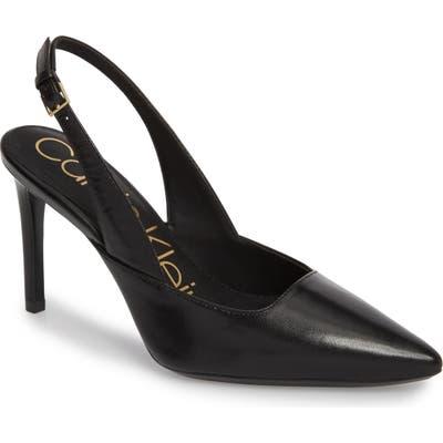 Calvin Klein Rielle Slingback Pump, Black
