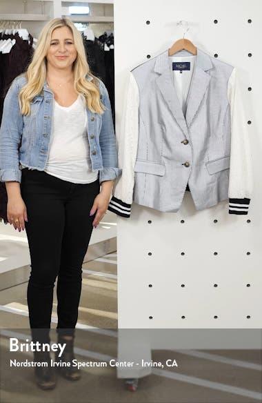 Billie Mixed Media Jacket, sales video thumbnail