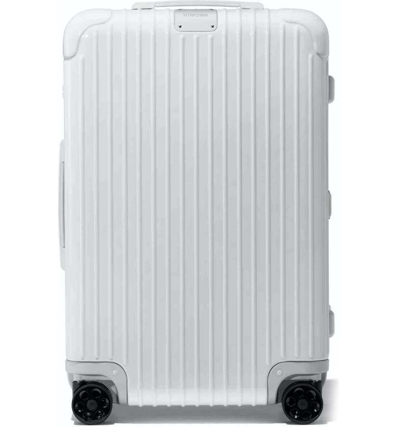 RIMOWA Essential Check-In Medium 26-Inch Wheeled Suitcase, Main, color, WHITE