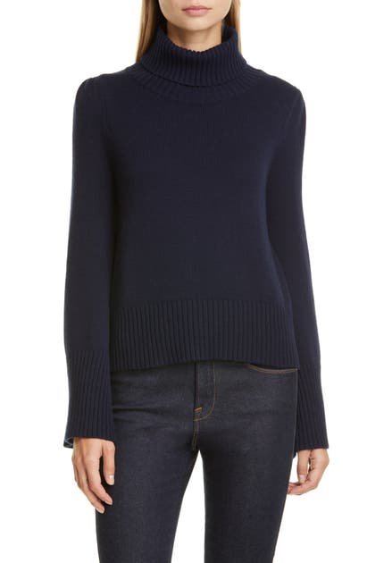 Co Sweaters BELL SLEEVE WOOL & CASHMERE SWEATER