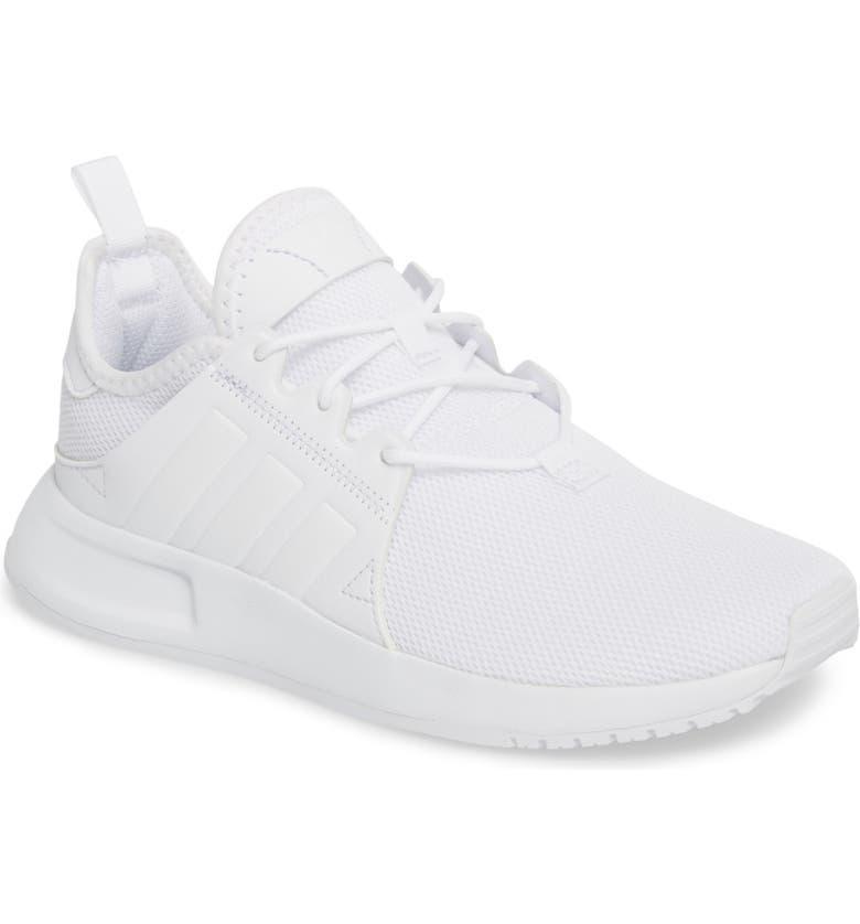 ADIDAS X_PLR Sneaker, Main, color, WHITE / WHITE / WHITE