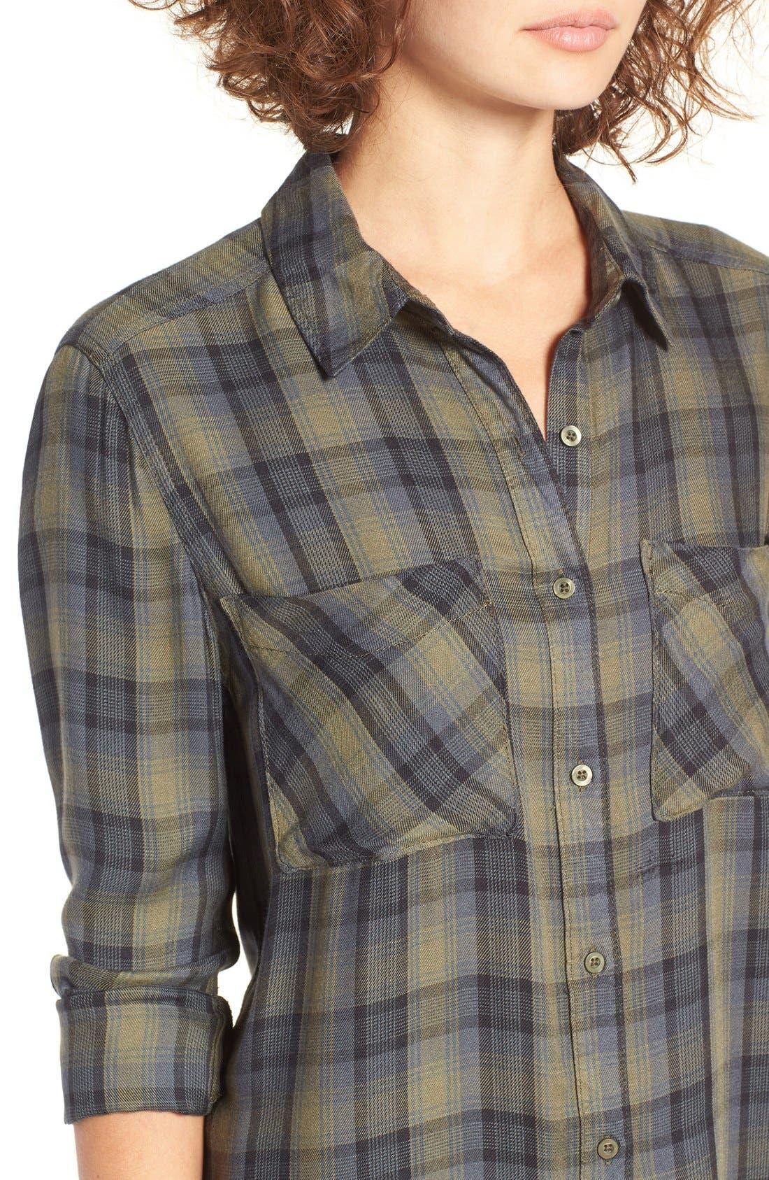 ,                             Plaid Tunic Shirt,                             Alternate thumbnail 21, color,                             311