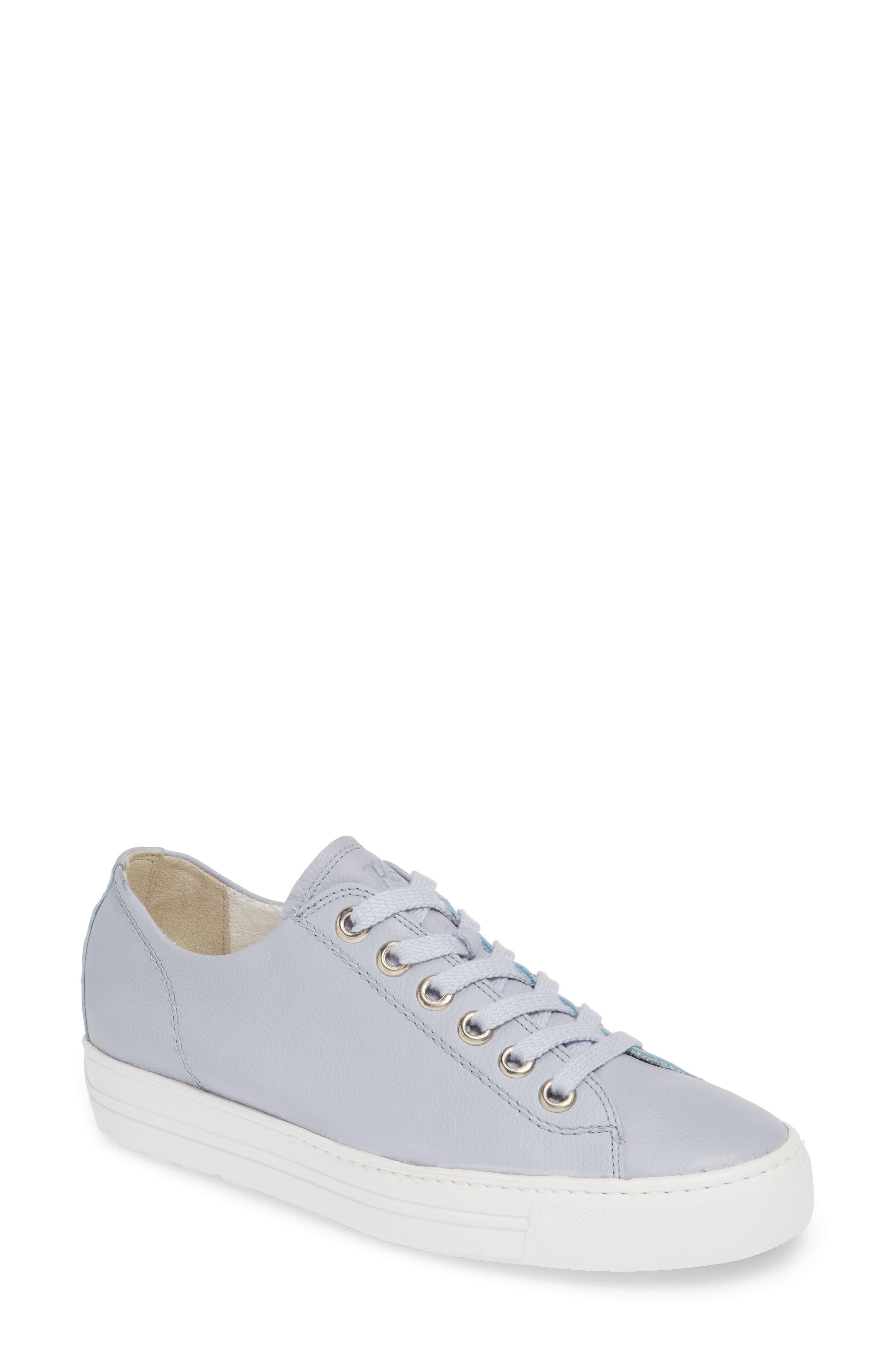 Paul Green Ally Low Top Sneaker, US/ 5.5UK - Blue