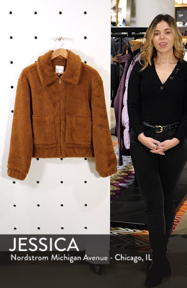 Northy Faux Fur Jacket, sales video thumbnail