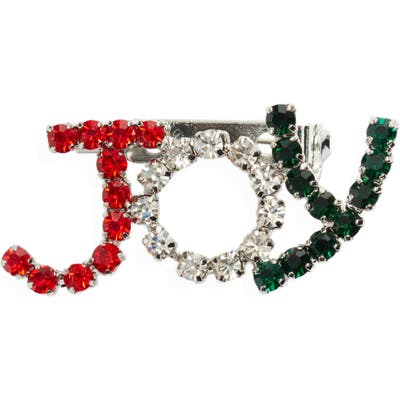 Cristabelle Christmas Joy Crystal Pin