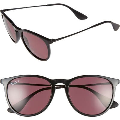 Ray-Ban Erika Classic 5m Sunglasses - Black/ Purple