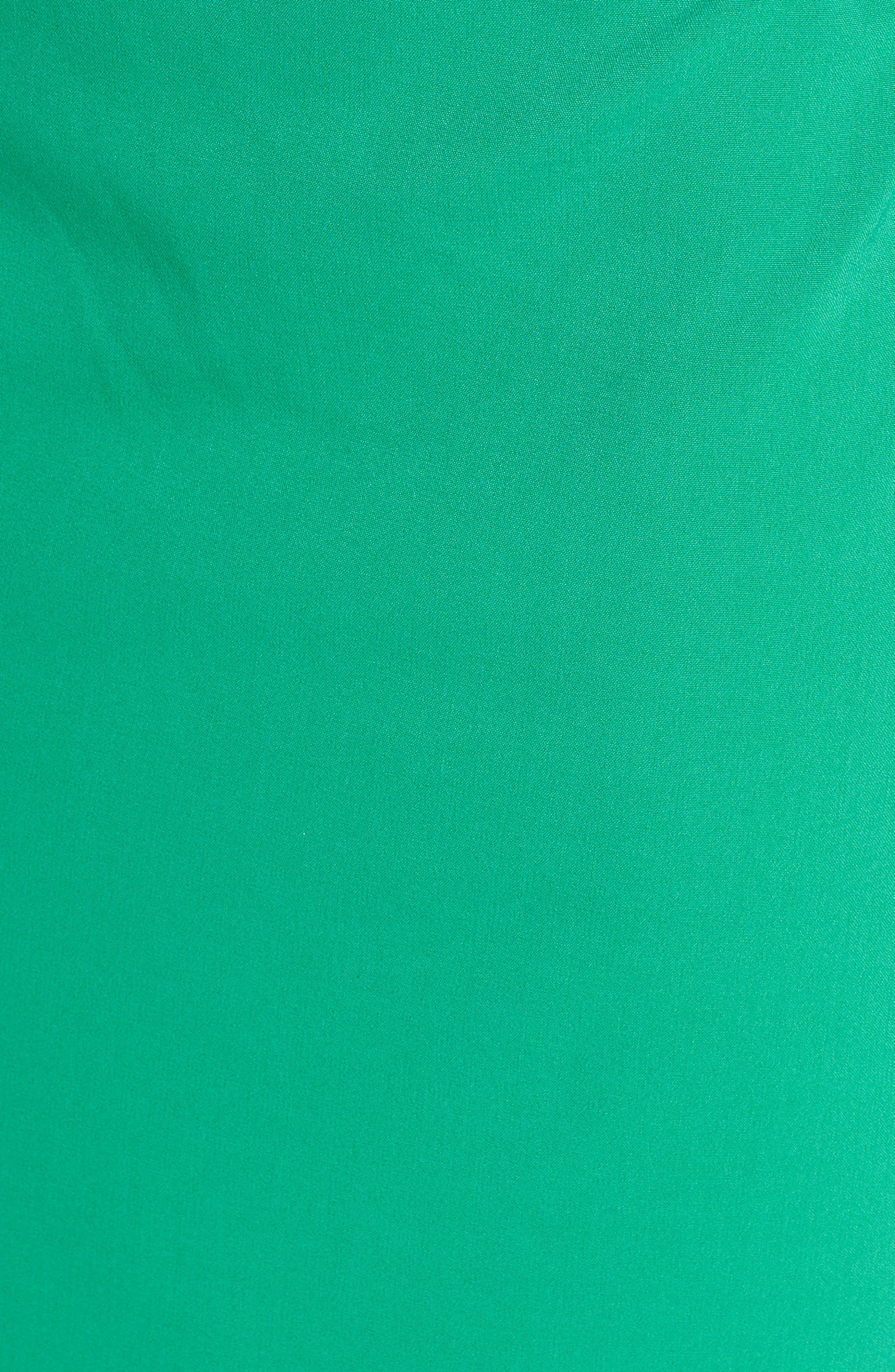 ,                             Popover Midi Dress,                             Alternate thumbnail 6, color,                             GREEN