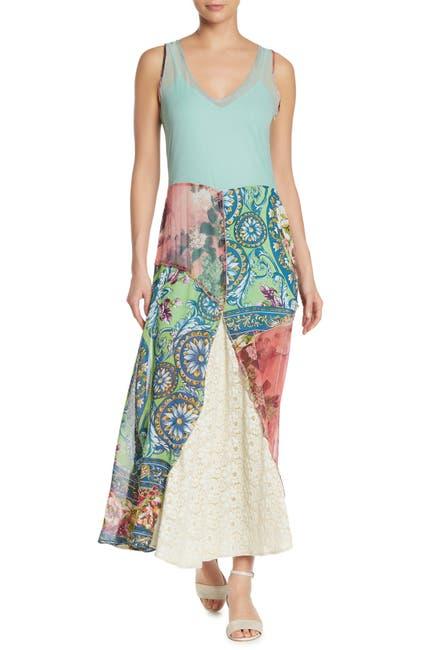Image of ARATTA Marseilles Silk Blend Maxi Dress