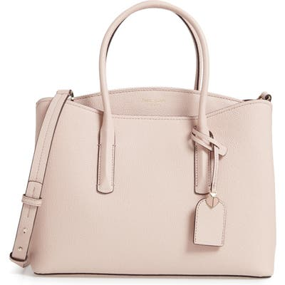 Kate Spade New York Large Margaux Leather Satchel - Pink