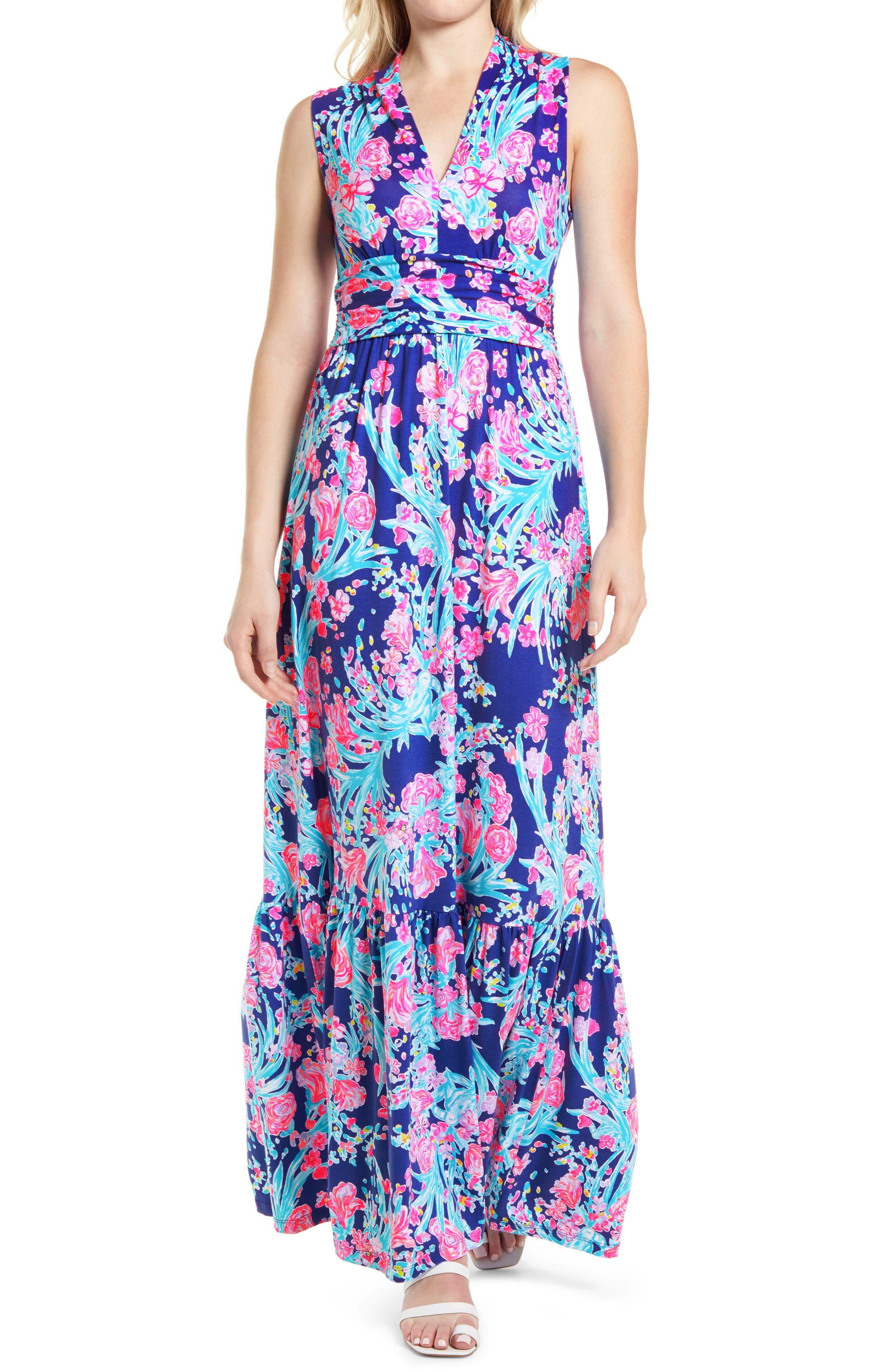 Women's Lilly Pulitzer Pearce Sleeveless Midi Dress