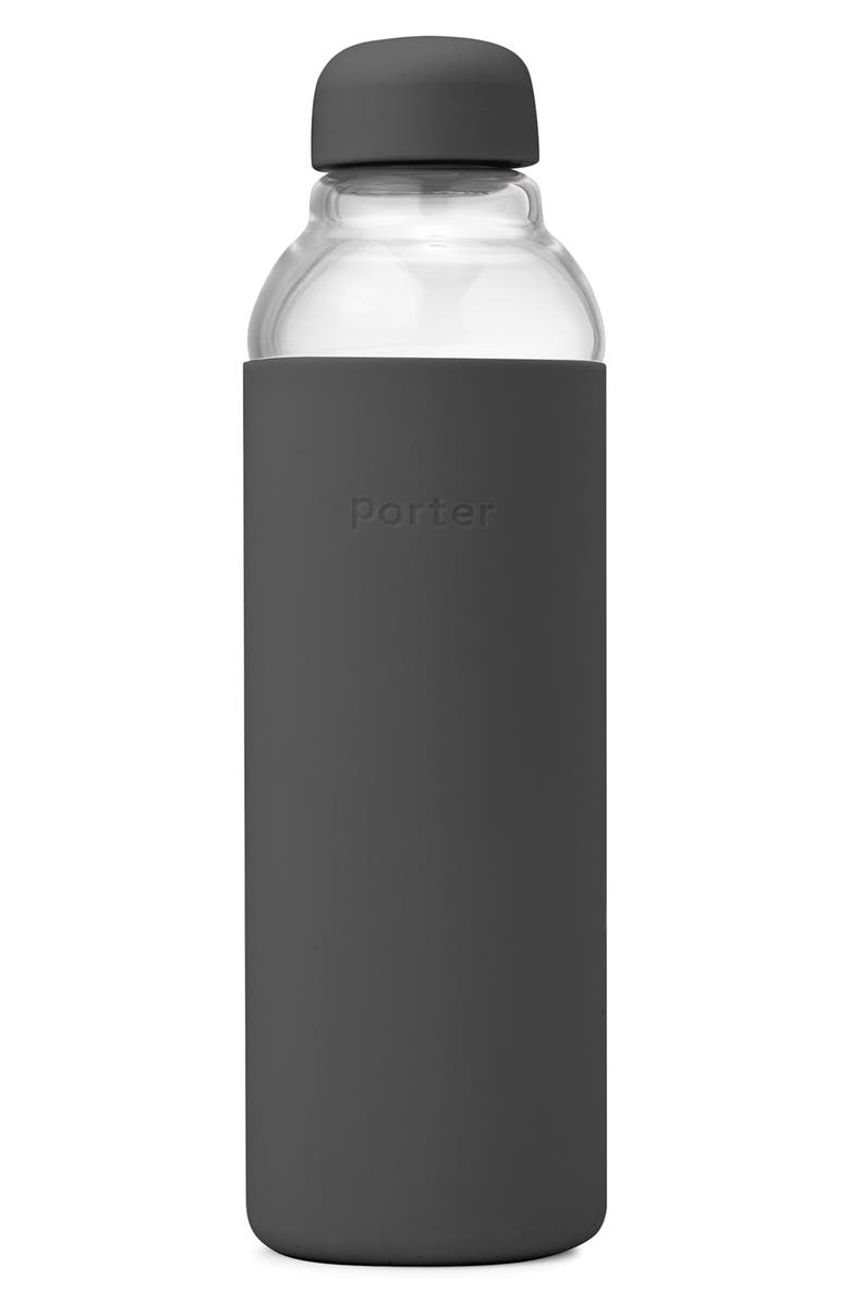 W&P DESIGN Porter Resusable Glass Water Bottle, Main, color, 020