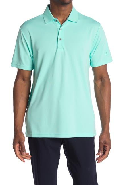 Image of PGA TOUR Short Sleeve Airflux Polo Shirt