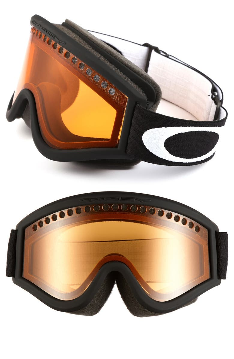 OAKLEY 'L Frame' Snow Goggles, Main, color, 001
