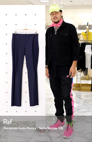 Tulea Shadow Check Wool Pants, sales video thumbnail