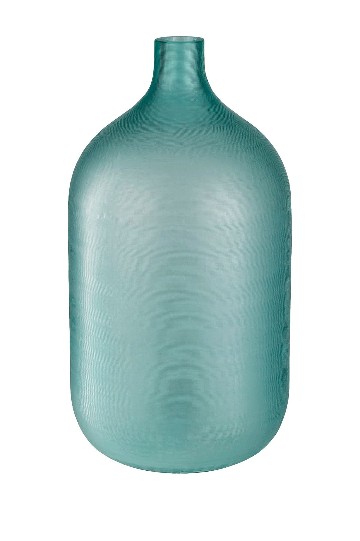 Image of SURYA HOME Modern Decorative Vase - Mint Seaglass