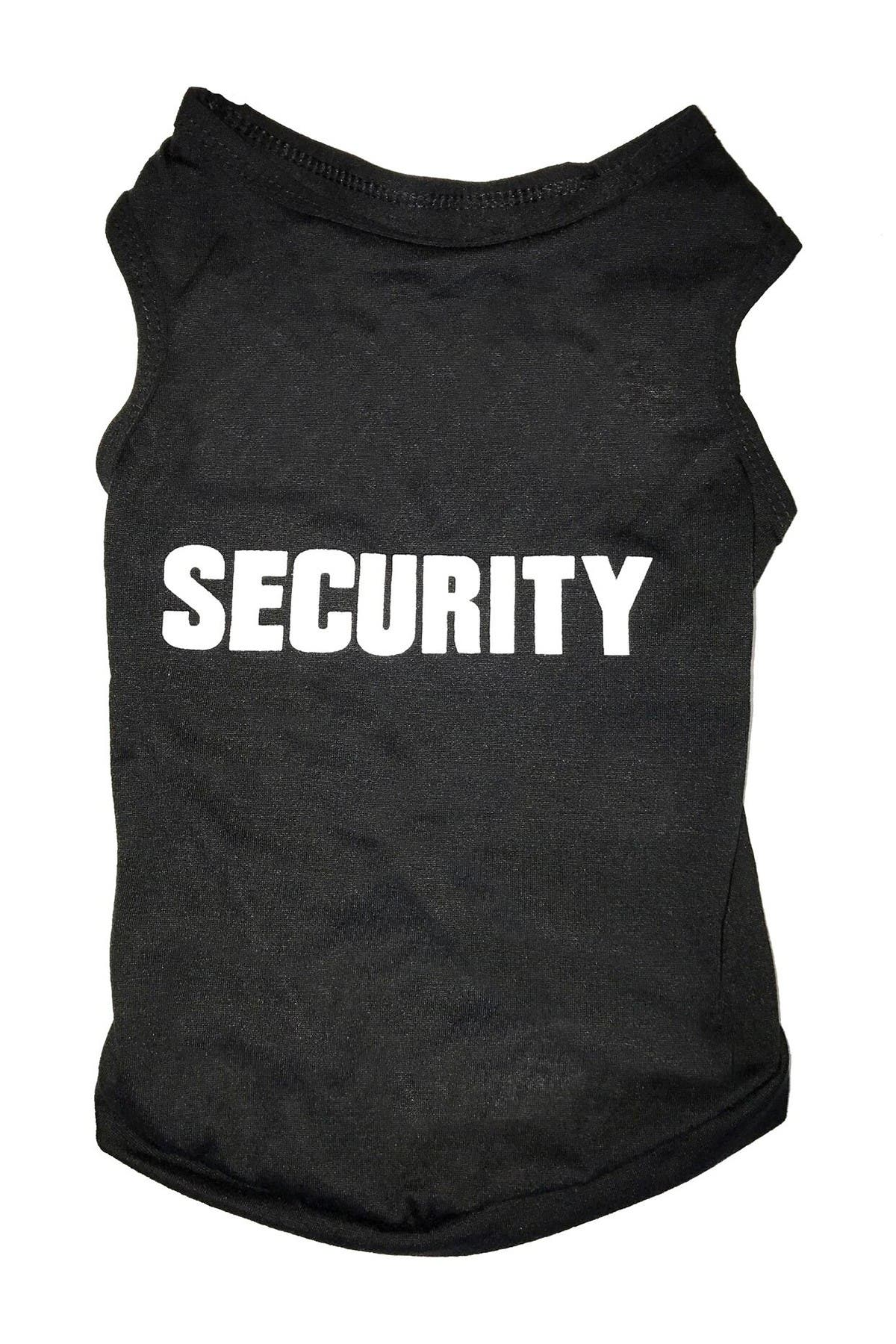 Image of Dogs of Glamour Large Black Security Tee