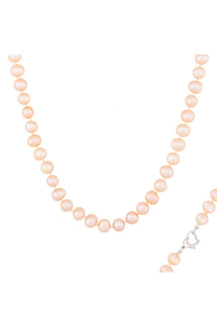 Image of Splendid Pearls Pink 6-7mm Freshwater Pearl Necklace